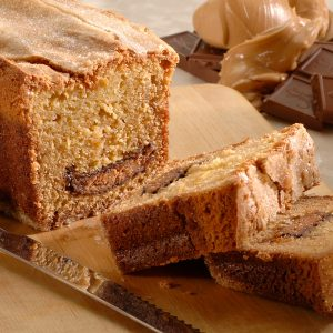 Milk Chocolate Peanut Butter Bread