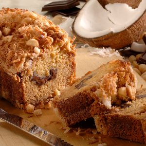 Dark Chocolate Macadamia Bread
