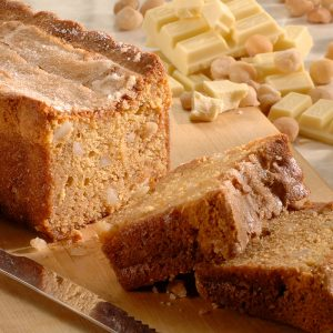 White Chocolate Macadamia Nut Bread