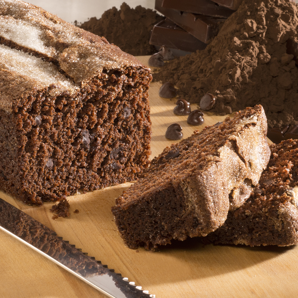 Gourmet Triple Chocolate Bread